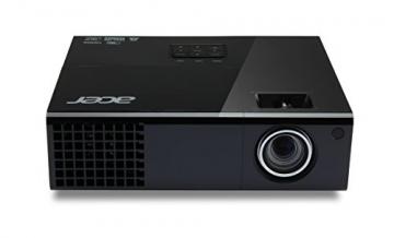 Acer M342 Full HD DLP-Projektor (direkt 3D-fähig über HDMI 1.4a, 3.000 ANSI Lumen, Kontrast 10.000:1, Full HD 1920 x 1080 Pixel) schwarz - 1