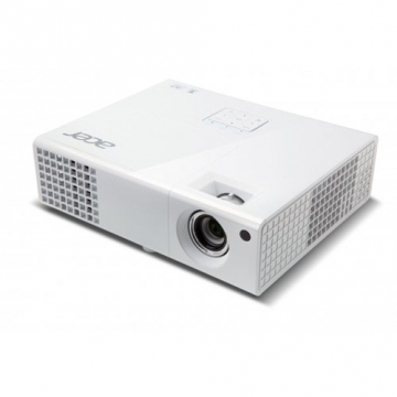 Acer P1173 3D SVGA DLP-Projektor (direkt 3D-fähig über HDMI 1.4a, 3.000 ANSI Lumen, Kontrast 13.000:1, 800x600 Pixel, MHL) weiß - 1