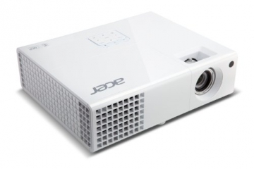 Acer P1173 3D SVGA DLP-Projektor (direkt 3D-fähig über HDMI 1.4a, 3.000 ANSI Lumen, Kontrast 13.000:1, 800x600 Pixel, MHL) weiß - 3