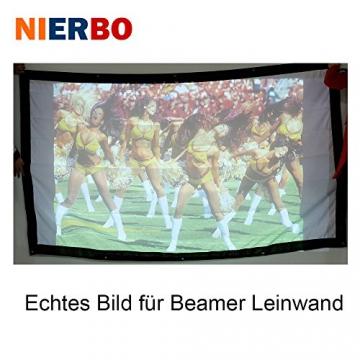 Beamer Leinwand, NIERBO 250