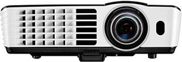 BenQ TH682ST Kurzdistanz 3D DLP-Projektor (3D 144Hz Triple Flash, Full HD 1920x1080 Pixel, Kontrast 10.000:1, 3.000 ANSI Lumen, HDMI, Lautsprecher) schwarz - 2