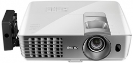 BenQ W1070+W 3D Wireless DLP Projektor (Wireless Full HD Kit, 3D über HDMI, Full HD, 1.920x1.080 Pixel, 2.200 ANSI-Lumen, Kontrast 10.000:1, Vertical Lens Shift, 2x HDMI, 1x MHL, Smart Eco) weiß - 1