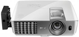 BenQ W1070+W 3D Wireless DLP Projektor (Wireless Full HD Kit, 3D über HDMI, Full HD, 1.920x1.080 Pixel, 2.200 ANSI-Lumen, Kontrast 10.000:1, Vertical Lens Shift, 2x HDMI, 1x MHL, Smart Eco) weiß - 1