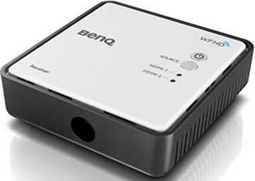 BenQ W1070+W 3D Wireless DLP Projektor (Wireless Full HD Kit, 3D über HDMI, Full HD, 1.920x1.080 Pixel, 2.200 ANSI-Lumen, Kontrast 10.000:1, Vertical Lens Shift, 2x HDMI, 1x MHL, Smart Eco) weiß - 12