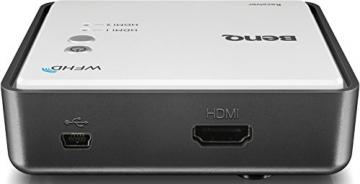 BenQ W1070+W 3D Wireless DLP Projektor (Wireless Full HD Kit, 3D über HDMI, Full HD, 1.920x1.080 Pixel, 2.200 ANSI-Lumen, Kontrast 10.000:1, Vertical Lens Shift, 2x HDMI, 1x MHL, Smart Eco) weiß - 13