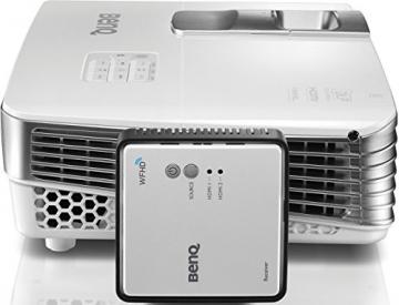 BenQ W1070+W 3D Wireless DLP Projektor (Wireless Full HD Kit, 3D über HDMI, Full HD, 1.920x1.080 Pixel, 2.200 ANSI-Lumen, Kontrast 10.000:1, Vertical Lens Shift, 2x HDMI, 1x MHL, Smart Eco) weiß - 2