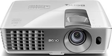 BenQ W1070+W 3D Wireless DLP Projektor (Wireless Full HD Kit, 3D über HDMI, Full HD, 1.920x1.080 Pixel, 2.200 ANSI-Lumen, Kontrast 10.000:1, Vertical Lens Shift, 2x HDMI, 1x MHL, Smart Eco) weiß - 4