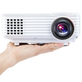 DBPOWER HD Beweglicher Mini Projektor 800 * 480, Kontrast 1000: 1 mit Keystone LCD Beamer Unterstützung HDMI, AV, USB, VGA - 1
