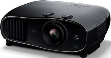 Epson EH-TW6600 3D Full HD Heimkino 3LCD-Projektor (Full HD 1080p, H & V Lensh-Shift, 2.500 Lumen Weiß- & Farbhelligkeit, 70.000:1 Kontrast, 2x HDMI (1x MHL), 1,6x fach Zoom,  inkl. 1x 3D Brille) schwarz - 3