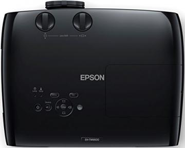 Epson EH-TW6600 3D Full HD Heimkino 3LCD-Projektor (Full HD 1080p, H & V Lensh-Shift, 2.500 Lumen Weiß- & Farbhelligkeit, 70.000:1 Kontrast, 2x HDMI (1x MHL), 1,6x fach Zoom,  inkl. 1x 3D Brille) schwarz - 5