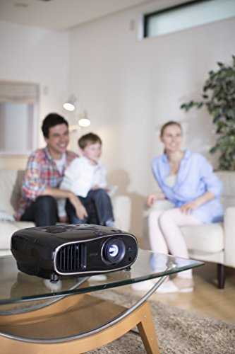 Epson EH-TW6600 3D Full HD Heimkino 3LCD-Projektor (Full HD 1080p, H & V Lensh-Shift, 2.500 Lumen Weiß- & Farbhelligkeit, 70.000:1 Kontrast, 2x HDMI (1x MHL), 1,6x fach Zoom,  inkl. 1x 3D Brille) schwarz - 7