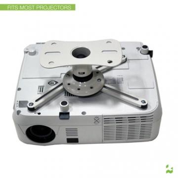 Kanto P101WUniversal Beamer / Projektor Deckenhalterung mit ausziehbar von 30,5cm (weiß) - 2