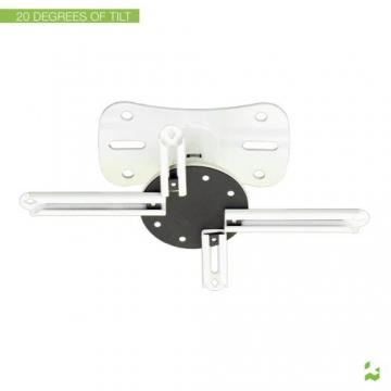 Kanto P101WUniversal Beamer / Projektor Deckenhalterung mit ausziehbar von 30,5cm (weiß) - 5