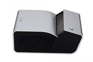 LG PH450UG Kurz Distanz LED Projektor mit HD Auflösung 450Lumen USB WXGA 1.280x720 1x1W 4:3 16:9 100.000:1 - 4