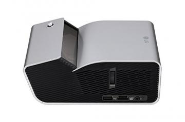LG PH450UG Kurz Distanz LED Projektor mit HD Auflösung 450Lumen USB WXGA 1.280x720 1x1W 4:3 16:9 100.000:1 - 6
